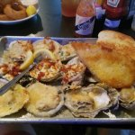Broiled oysters!