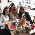 Cream Tea at the Mad Hatters Tea Party