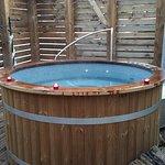 Le magnifique bain nordique très sympathique!