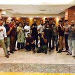 After buffet dinner with the members of World Karate Organization WKO, ShinKyokushinkai Banglade