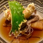 Japanese noodle and tempura