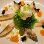 Makrele starter with Japanese touch!