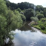 The nearby River Teme, Knightwick