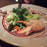 Mmmm la salade de homard !