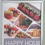 Happy Hour Signage