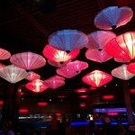 Ambiance de lanterne asiatique