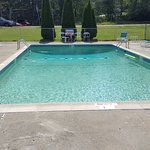 Nice 8 foot deep outdoor pool