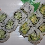 Cucumber and Cucumber&Avocado Rolls