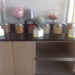 Candy/snack bar in Lounge