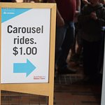 Even the Carousel rides did not come with the price of admission