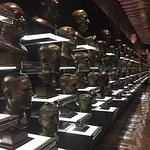 Busts of all inductees
