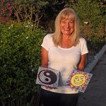 Sue enjoyed mosaic making so much, she made two...