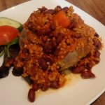 Chilli con carne jacket potato