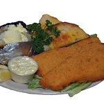 Golden Fried Cod Sandwich