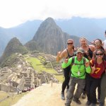 Machu Picchu with our guide Amazing Alvin!