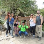 Huyana Picchu with our guide Amazing Alvin!