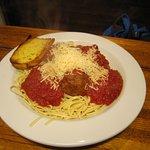 Italian Pasta w/ Meatballs