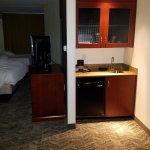 View toward room from entry door