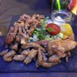 Pina Colada , Assiette friture de la mer