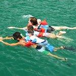 Family snorkel!