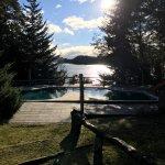 Vista + piscina