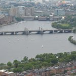 Charles River as seen from the Prudential Tower