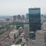Prudential Tower - Looking East.