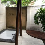 Outside bathroom (You have an indoors shower too!)