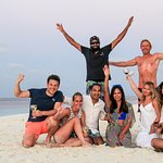 Our SCUBA Spa Yang Dive Crew with Mox!