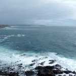This panaoramic view shows the bay & Lands End in the distance.