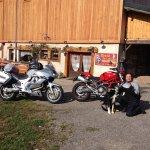 Les motos avec Kouki.....