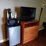 Amenities and dresser