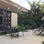 Terraza restaurante del Hotel: UCO