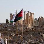 Jerash, Jordan flag