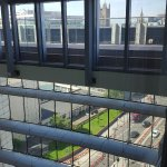 View from room through atrium