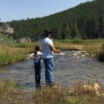 Fly fishing on French Creek - lots of trout!