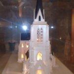 Maquete da Catedral em seu interior