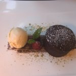 Dark chocolate and Edradour fondant