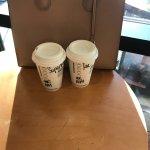 Starbucks in hotel lobby