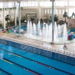 Lapping pool and water spa Facility