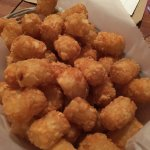Basic tater tot appetizer - nothing fancy, just plain ol' tots!
