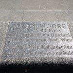 Henry Moore sculpture on Karlsplatz