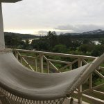 Hammock on the deck in River view room