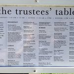 Billede af The Trustees' Table