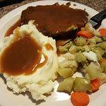 Meatloaf dinner - $3.99 special