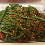 Fried green bean in Szechuan style - Spicy and yummy.