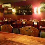 Pleasant Ambiance of the Upstairs Dining Room