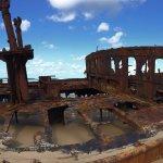 Panorama view of Maheno Wreck