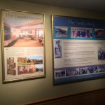 von Trapp Family history boards in the lobby