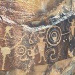 Dinosaur Monument petroglyphs